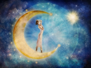 Dancer in the Moon